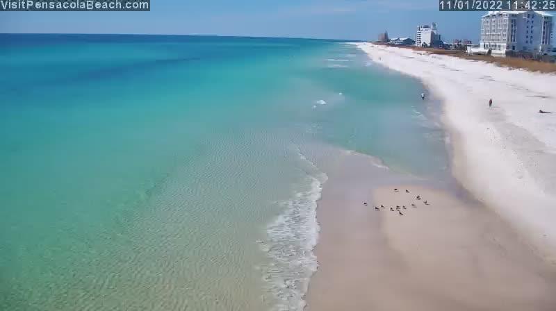 Pensacola Beach Pier West View